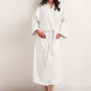 Halate de baie Frottier cu guler Kimono 1